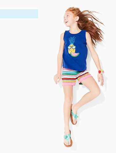 from $15 breezy brights save on summer tees, shorts and shoes shop now