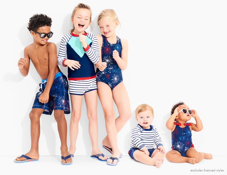 25% off swimwear and gear. Splash for seasons, thanks to super crafted quality. Shop girls, boys, and baby.