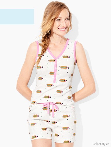 shop women's pajamas in organic cotton