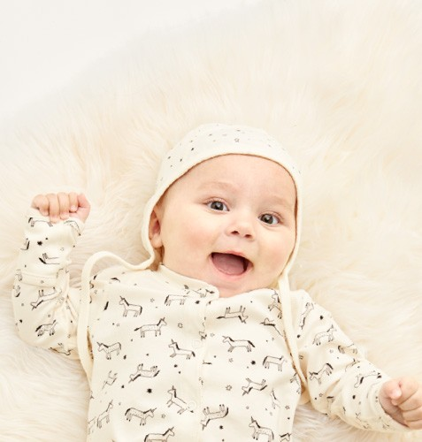 Introducing Organic Pima Cotton for Baby