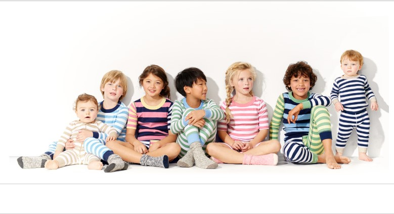 Shop Sleepwear Legendary Long Johns our long-fiber organic cotton is crafted into silky ribbknit for supersoft next-to-skin comfort for girls, boys, baby, and family.  15% of profits from our most-loved striped kids PJ's are given to Raising a Reader.  Help Kids Read.