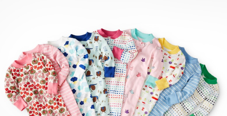 shop organic super-fave baby sleepers