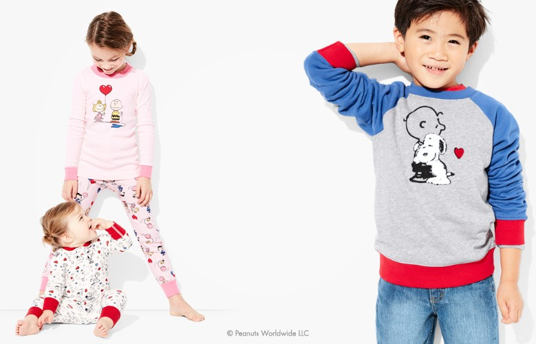 Snoopy, be mine, Love is snuggling with the most lovable Peanuts characters of all time!