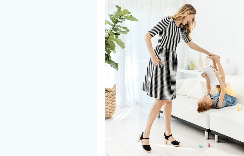 shop our super-easy dress look