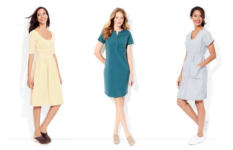 shop our super comfy dress look