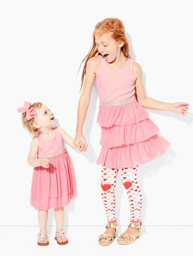 Shop toddler dresses, some with matching big sister prints