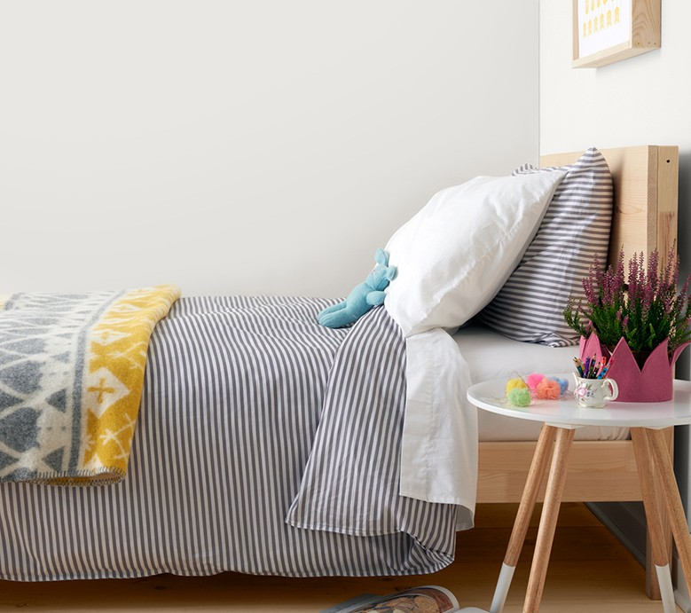 Cozy mixable Hannasoft bedding. Our safe and supersoft cotton in OEKO-TEX certified.