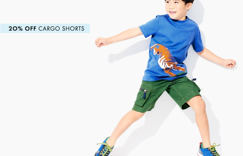 20% off cargo shorts love the pockets shop now