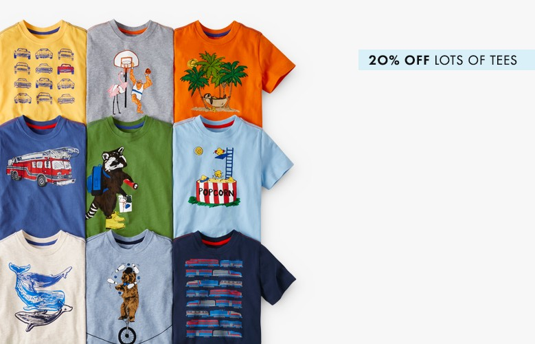 20% off lots of tees our art tees are now made from the snuggliest cotton ever shop now
