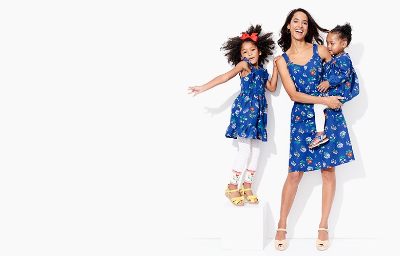 Shop matching mommy & me styles for spring