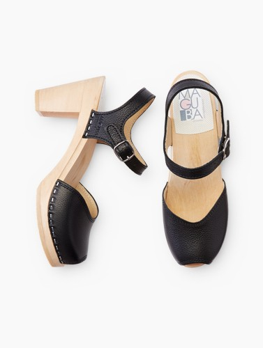 shop hand crafted Swedish clogs for Women