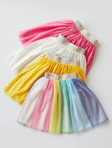 the tulle skirt glitter stars or rainbow shop now