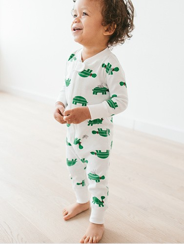 shop new baby sleepers & kids pj's in organic cotton