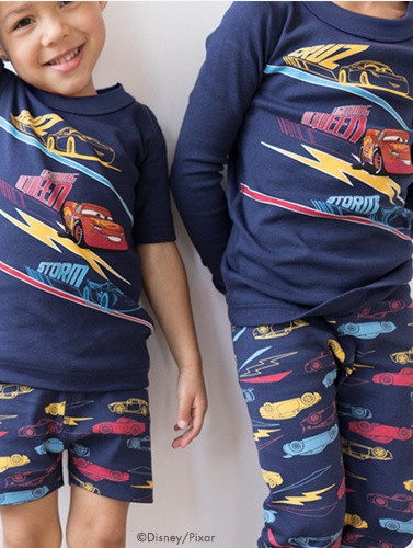 shop new Disney Pixar Cars 3 pajamas