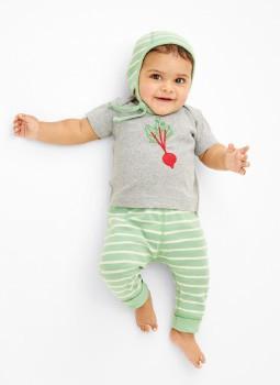 Shop Baby BRIGHT BABY BASICS. Swedish-inspired organics