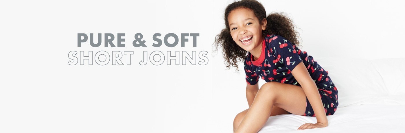 Pure & Soft Short Johns; Shop Short Johns