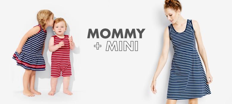 Shop Women.  Mommy + mini.  share the love.