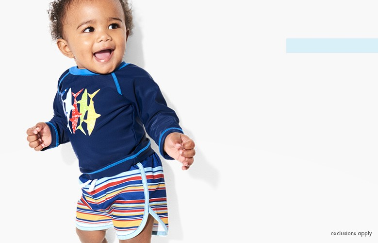 shop baby & toddler swim & vacation faves