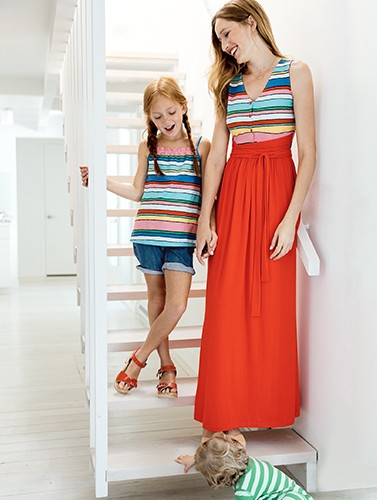 shop matching styles for moms & kids