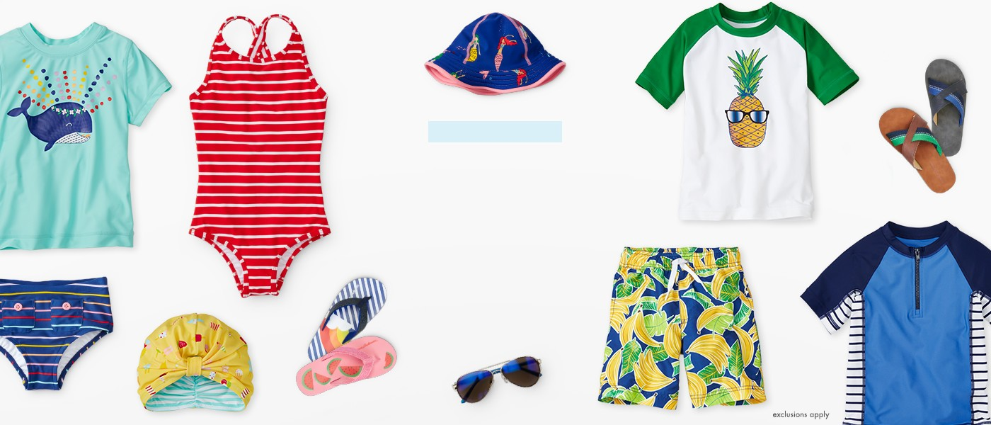 20% off swim h2O headquarters shop girls, boys baby