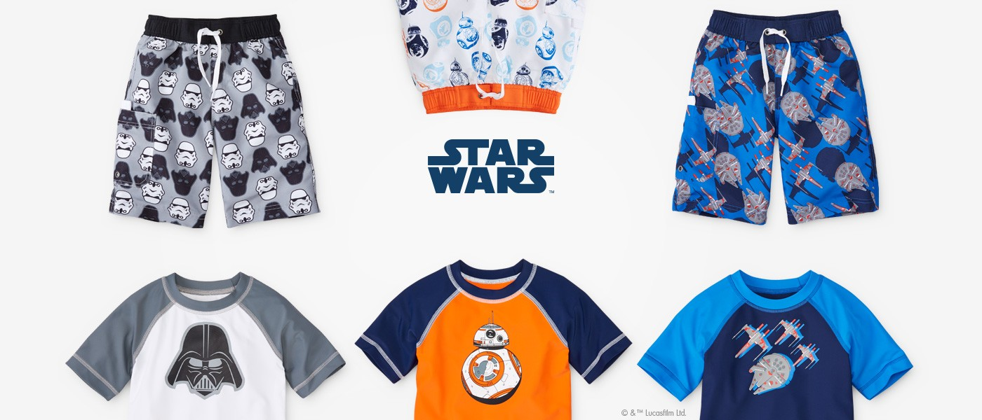 Star Wars our first ever Star wars swimwear is making a splash shop now