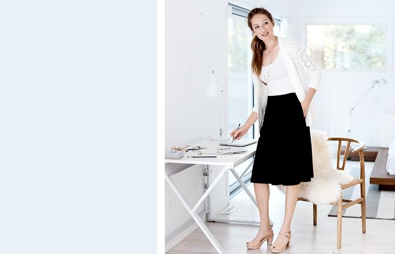 shop our women's dress look