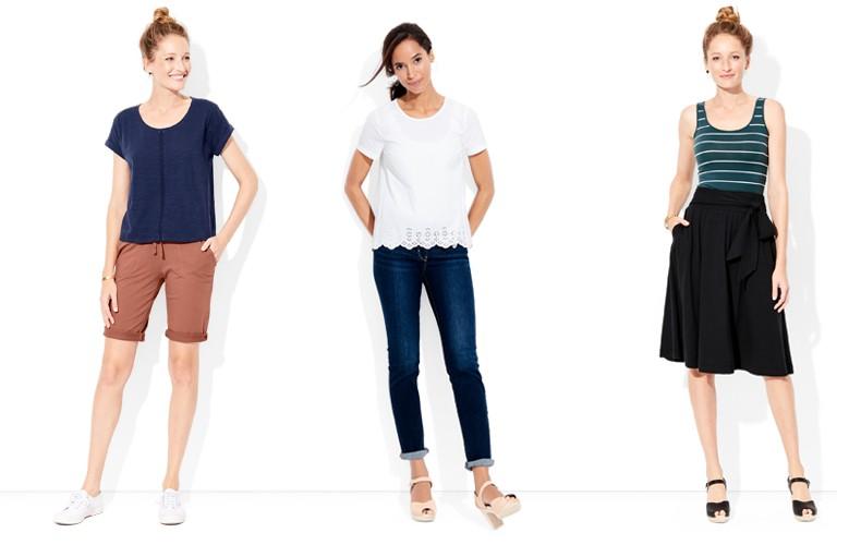 shop our women's long dress look