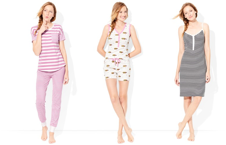shop our women's cozy pajama look