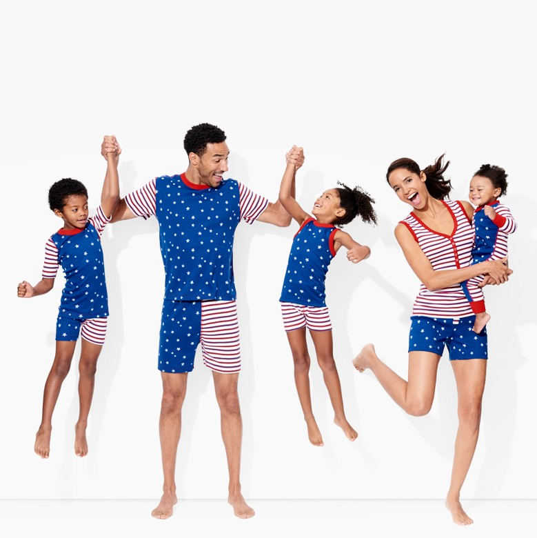 shop family matching pajamas