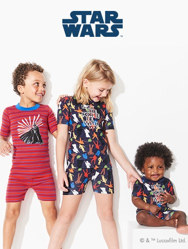 shop New Star Wars glow in the dark pajamas