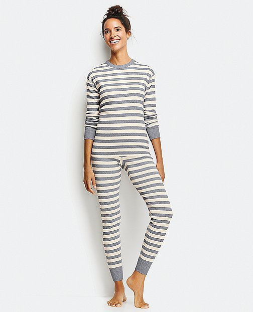 Long John Pajama Top In Organic Cotton by Hanna Andersson
