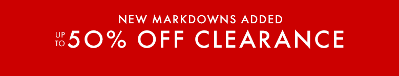 New markdowns added. Up to 50% off clearance. Shop girls, boys, baby, and women.