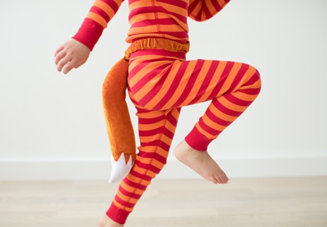 THE SLY SILLY FOX; crafted to mix every which way with our comfy quality that sets kids free