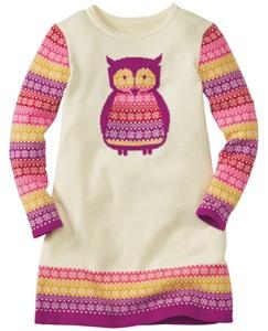 Art Knit Sweater Dress